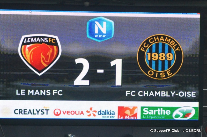 LE MANS FC CHAMBLY 64
