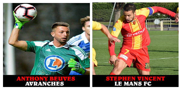 Photo pour article Avranches Le Mans FC