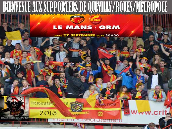les supporters de quevilly